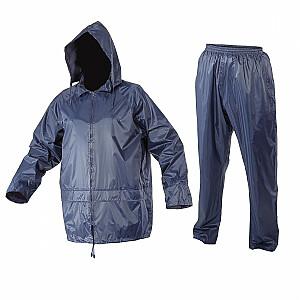 Lahti Pro lietus komplekta jaka + bikses tumši zila XL (4140104)