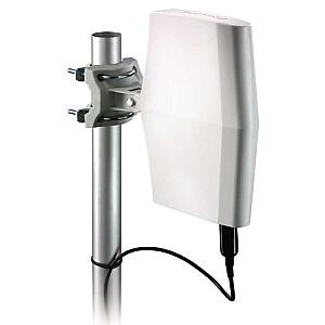 SDV8622/12 Ārpustelpu digitālās televīzijas antena ar 40 dB pastiprinājums (HDTV/UHF/VHF)