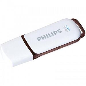 USB 3.0 Flash Drive Snow Edition (brūna) 128GB