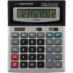 ECL103 Kalkulātors, 12 zīmju ekrāns