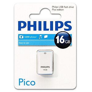 USB 2.0 Flash Drive Pico Edition (zila) 16GB