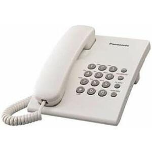 Panasonic KX-TS500PDW vadu tālrunis balts