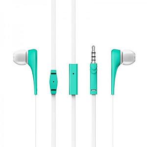Style 1+ In-Ear austiņas ar smartphone control un mikrofonu. Garantija 3 gadi! (mentolas)