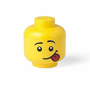 LEGO storage box head Silly small 16 x 18,5 cm