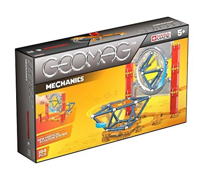Geomag Mechanics 164 det. magnētiskais konstruktors