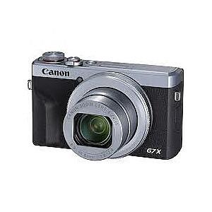 Canon PowerShot G7X Mark III sudrabs