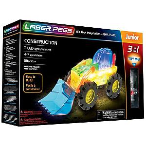 Konstruktors Laser Pegs 3 In 1 Construction
