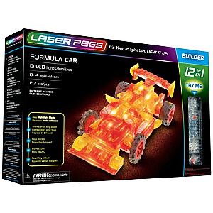Konstruktors Laser Pegs 12 In 1 Formula Car