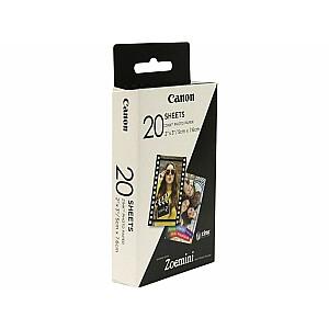 Canon ZINK Paper ZP-2030 kasetnes ZOEMINI - 20 fotogrāfijas