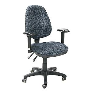 Biroja krēsls SAVONA, pelēks