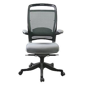 Biroja krēsls FULKRUM, pelēks audums *