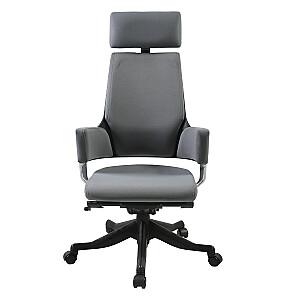 Biroja krēsls DELPHI, pelēks audums