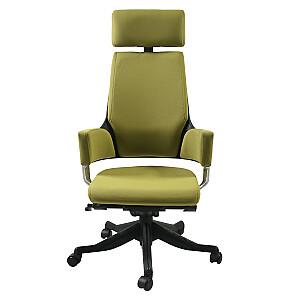 Biroja krēsls DELPHI, olīvzaļš audums