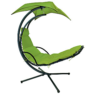 Piekaramais krēsls DREAM ar tentu, zaļš