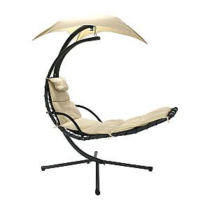 Piekaramais krēsls DREAM ar tentu, bēšs