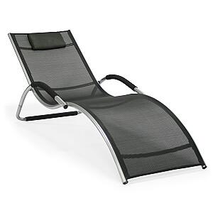 Guļamkrēsls BRIGO, melns