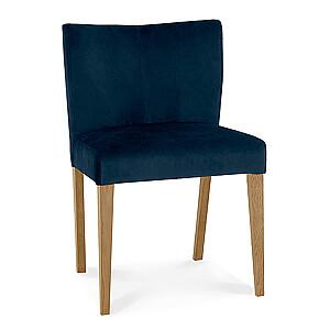 Krēsls TURIN, tumši zils, gaišas kājas