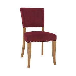 Krēsls KINGSWOOD, tumši sarkans