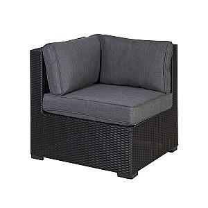 Moduļdīvāns SEVILLA ar spilveniem, stūris, 76,5x76,5xH74,5cm