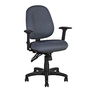 Biroja krēsls SAGA, pelēks