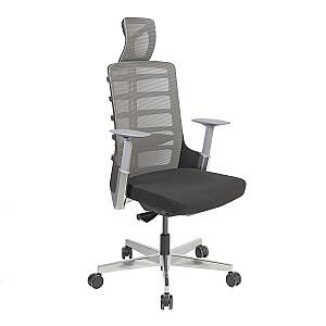 Biroja krēsls SPINELLY, melns / pelēks
