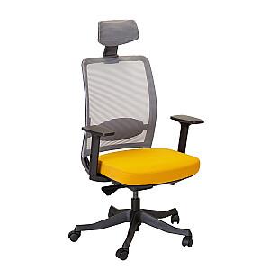 Biroja krēsls ANGGUN, dzeltens