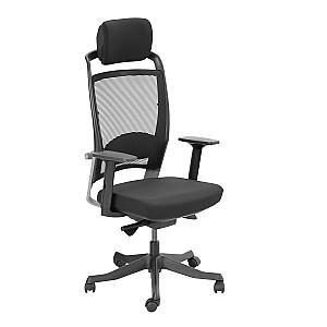 Biroja krēsls FULKRUM, melns