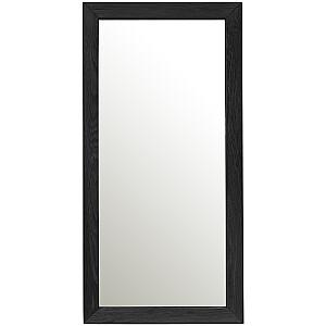 Spogulis MONDEO 80x40cm, melns ozols