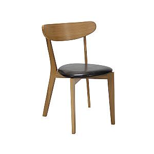 Krēsls OLIANA 50x53xH76,5cm, tumši brūns