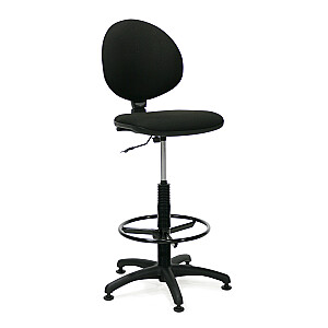 Augsts biroja krēsls SMART, melns