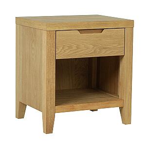 Naktsskapītis / galds CHAMBA, 40x50xH55cm, ozols