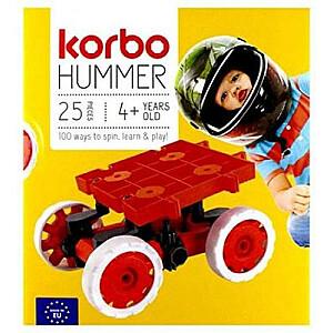 Korbo Hummer bloki 25 elem, sarkans