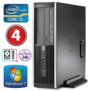 HP 8100 Elite SFF i5-750 4GB 240SSD+500GB NVS295 DVD WIN7Pro