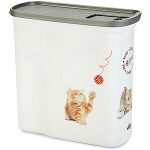 Trauks barības uzglabāšanai Love Pets Dogs 1kg 2L 21x9xH19cm kaķis
