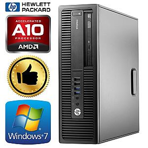 HP 705 G2 SFF A10 PRO-8750B 8GB 480SSD+500GB WIN7Pro