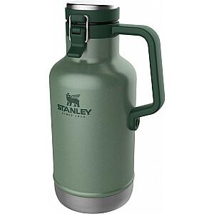 Alus krūka The Easy-Pour Growler Classic 1,9L zaļa