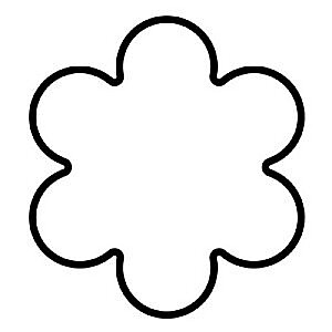 "Piparkūku/cepumu formiņa S ""Rosette"" 4cm"