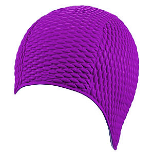 Matu cepure. gumija. BUBBLE 7300 77 ceriņi