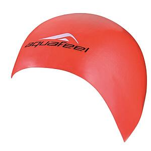 Matu cepure. silikona unisex. AQF 3046 40 sarkans