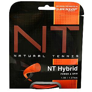 Tenisa stīgas Dunlop NT Hybrid Orange 1,39 / 1,27 mm