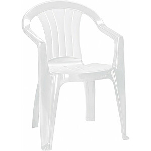 Dārza krēsls Sicilia balts