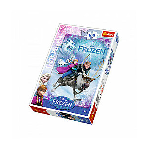 """Puzle """"Frozen"""", 100 gb."""