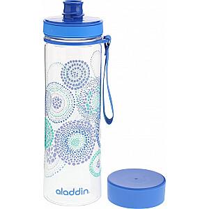 Pudele Aveo Water Bottle 0,6L zila (grafika)