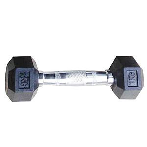 Hantele TOORX HEXAGON MEG-45 45kg