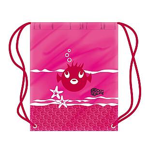 Mugursoma SEALIFE 4 rozā