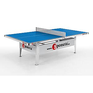 Tenisa galds āra 10mm SPONETA S 6 - 67e zils