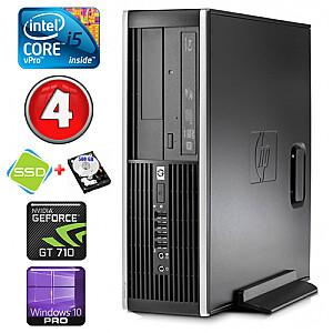 HP 8100 Elite SFF i5-650 4GB 120SSD+500GB GT710 2GB DVD WIN10Pro