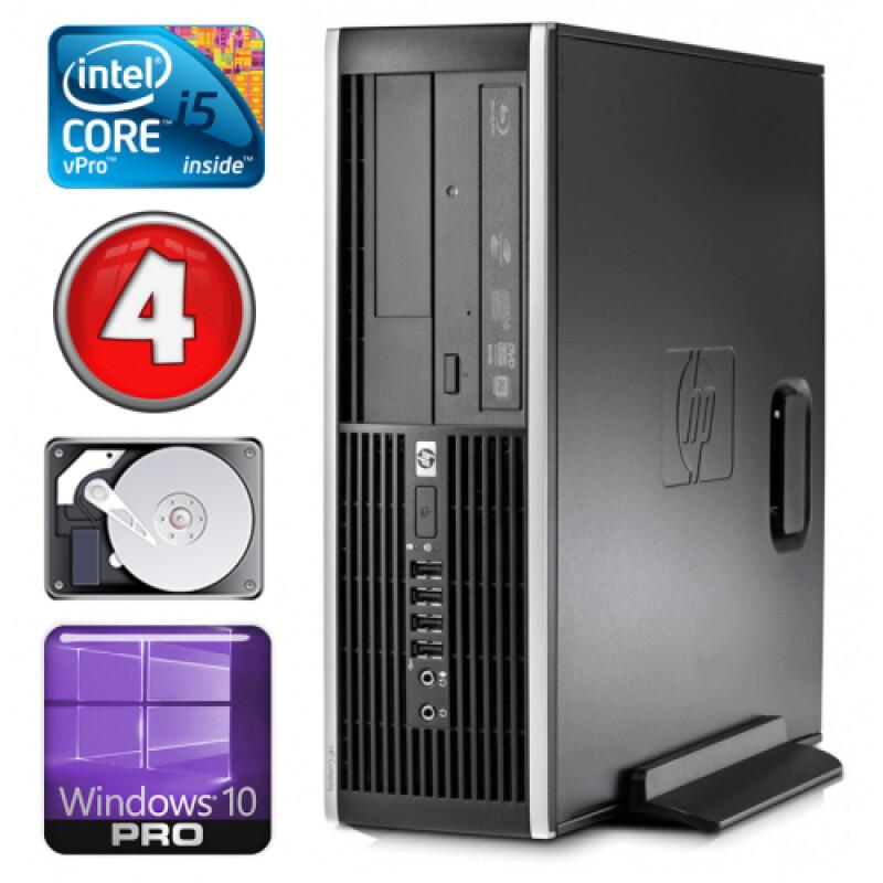 HP 8100 Elite SFF i5-650 4GB 250GB DVD WIN10Pro