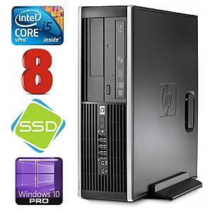 HP 8100 Elite SFF i5-650 8GB 120SSD DVD WIN10Pro