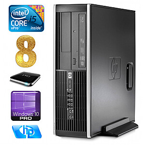 HP 8100 Elite SFF i5-650 8GB 1TB DVD WIN10Pro